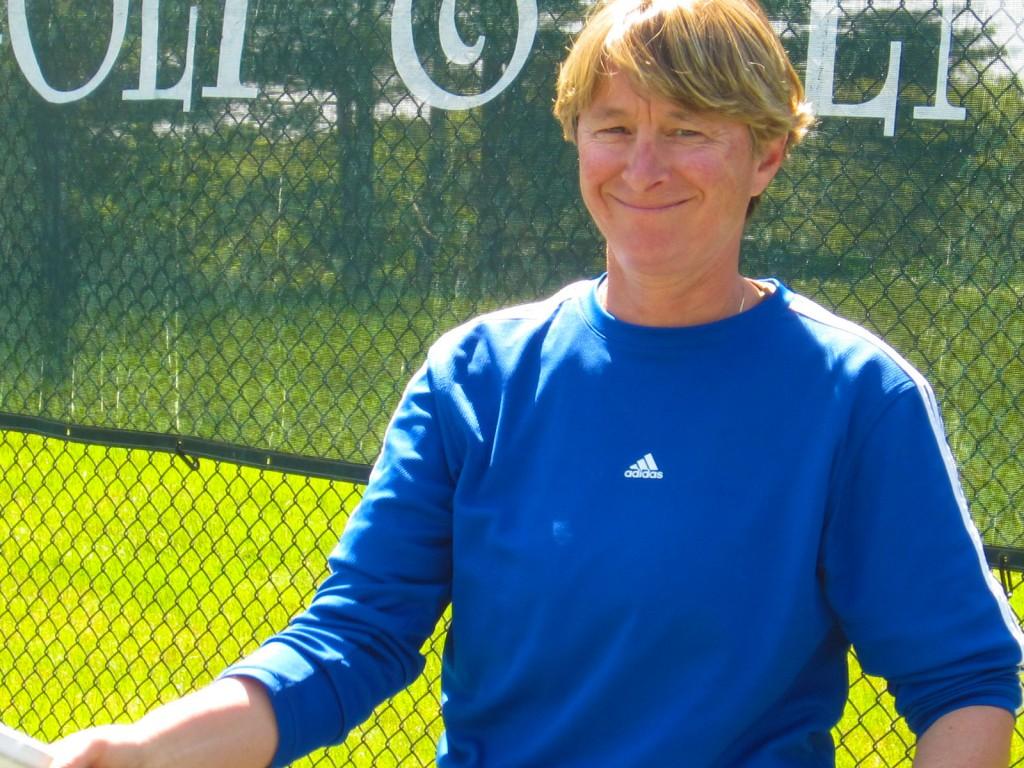 Tennis Director Lisa Wilcott